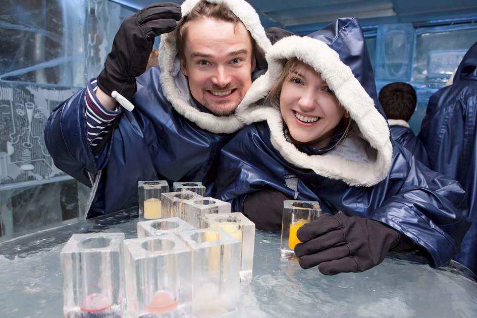 Ice bar. Photo: Shutterstock