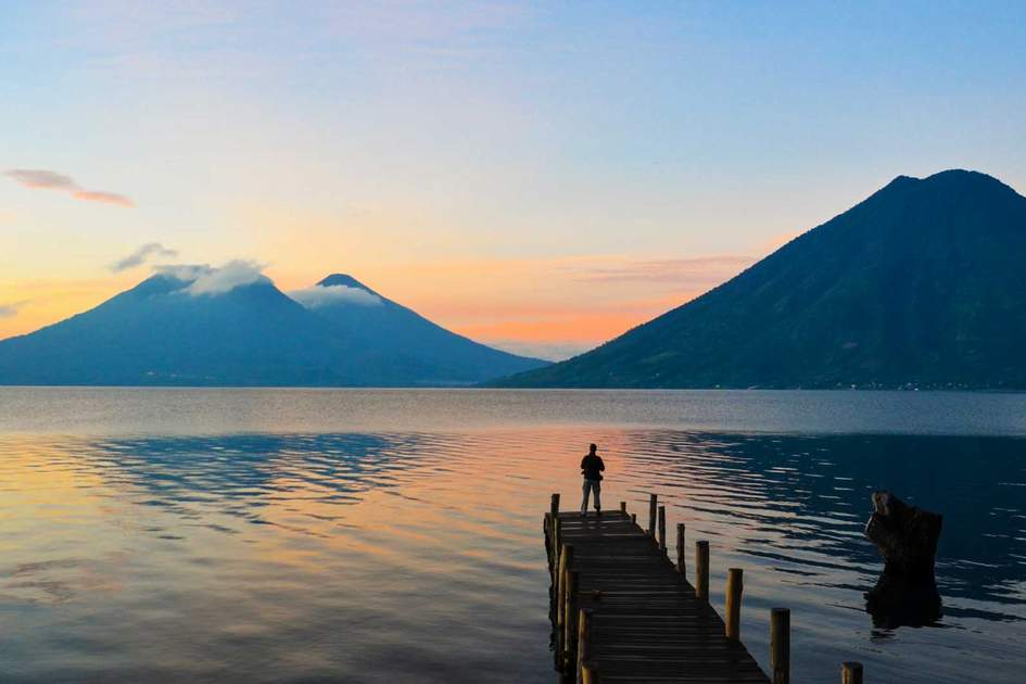 Lake Atitlán in Guatemala. Photo: Shutterstock