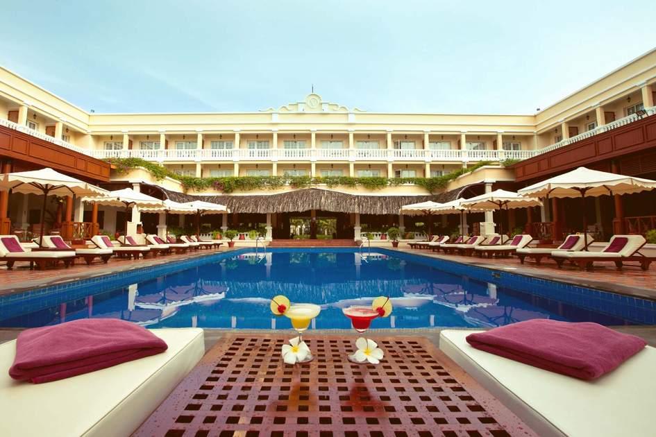 Victoria Can Tho Hotel. Photo: Trip provider