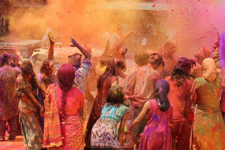 Holi festival in India. Photo: Kristina Sophie/Shutterstock