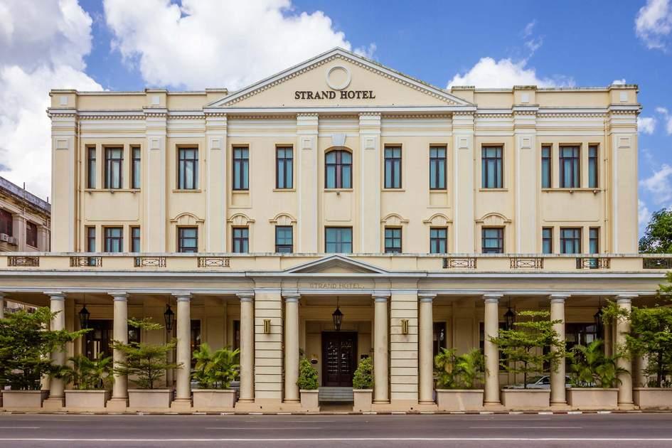 Hotel Strand in Yangon. Photo: Shutterstock