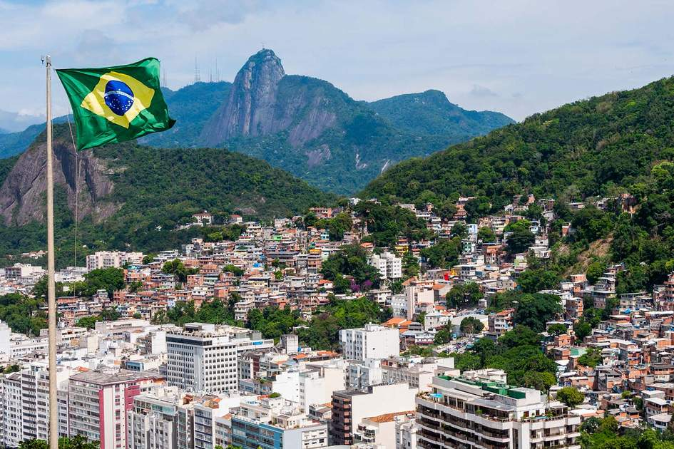 View from Fort Leme, Rio de Janeiro. Photo: Shutterstock