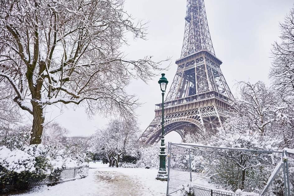 Paris in winter. Photo:  Ekaterina Pokrovsky/Shutterstock
