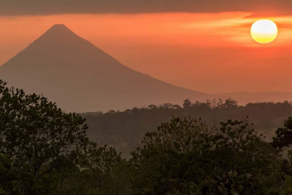 Arenal Volcano, Northeast Costa Rica.