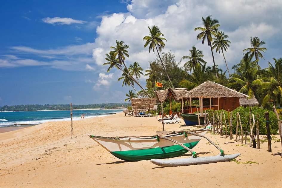 Beautiful Sri Lankan beach. Photo: Shutterstock