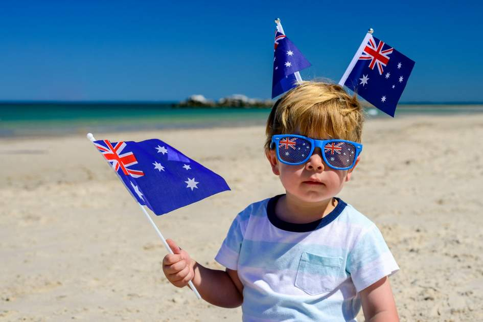 Australia Day at the beach. Photo: amophoto_au/Shuterstock