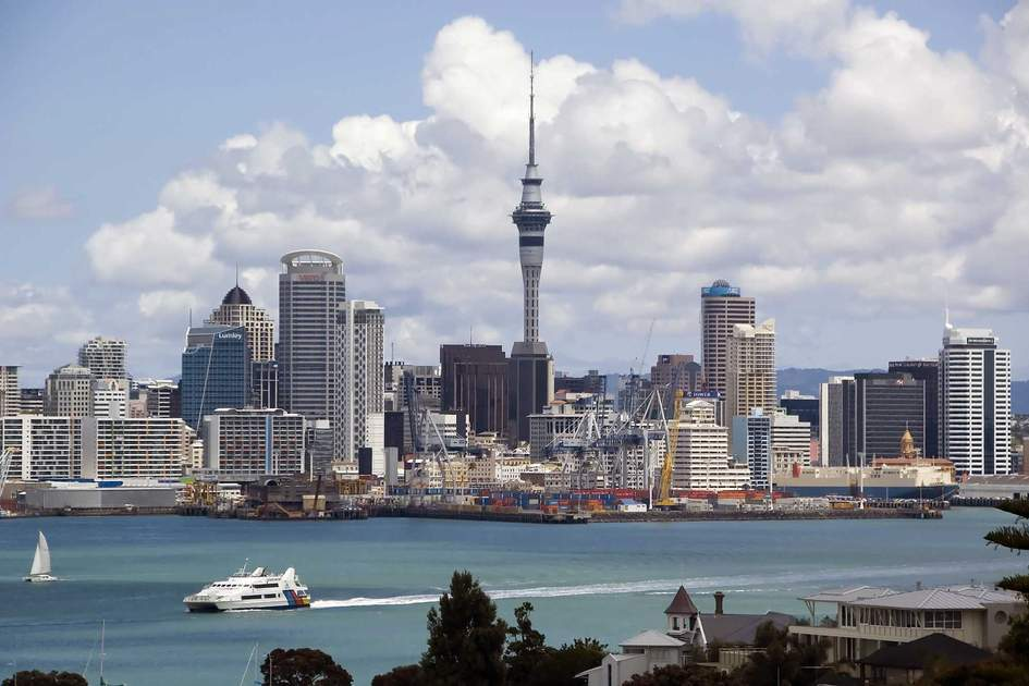Auckland skyline. Photo: Albert H. Teich/Shutterstock