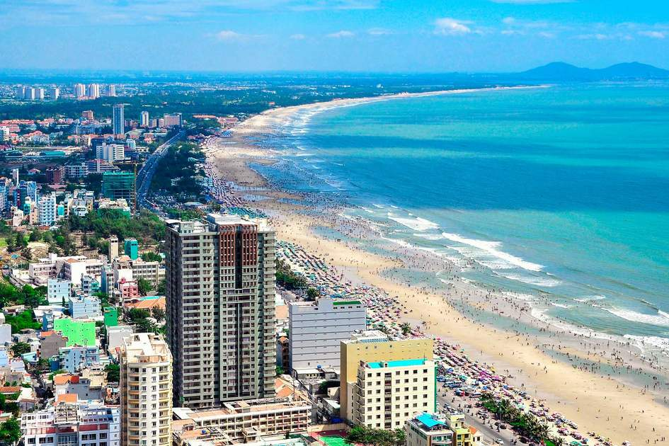 Vung Tau city and coast, Vietnam. Photo: Hang Dinh/Shutterstock