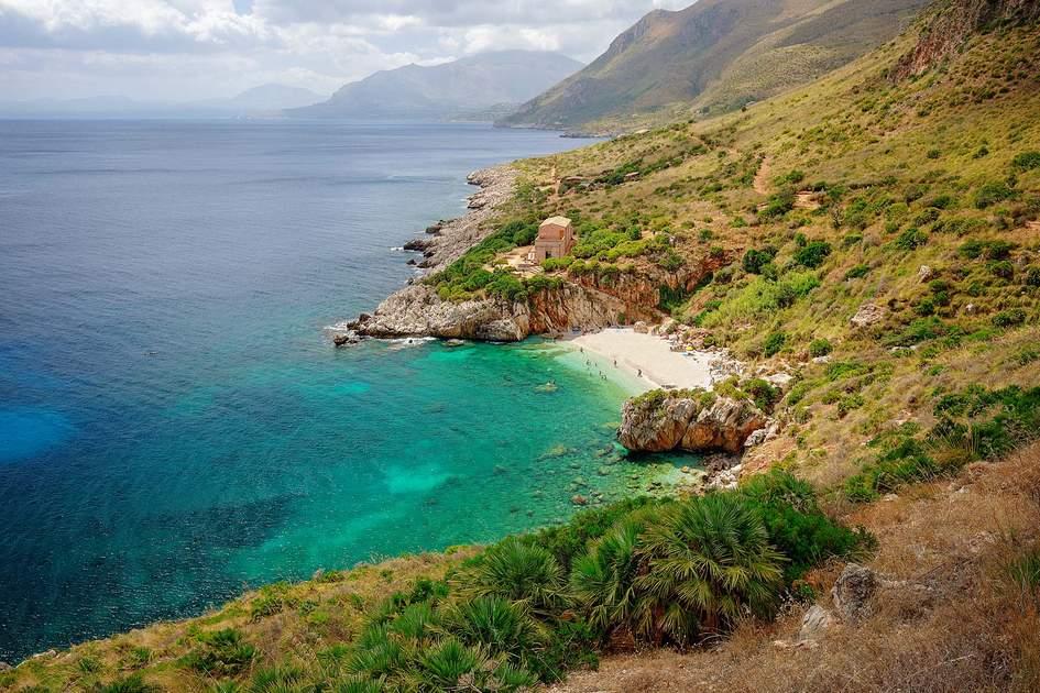 Cala dell'Uzzo beach in Sicily. Photo: StockdelD/Shutterstock