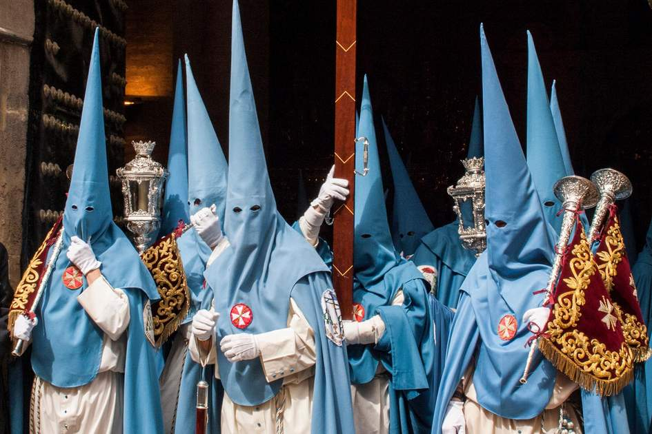 Holy Week procession in Andalucia, Spain. Photo: SeluGallego/Shutterstock
