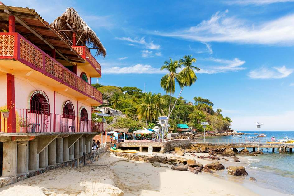 Coastal town of Yelapa near Puerto Vallarta, Mexico. Photo: zstock/Shutterstock