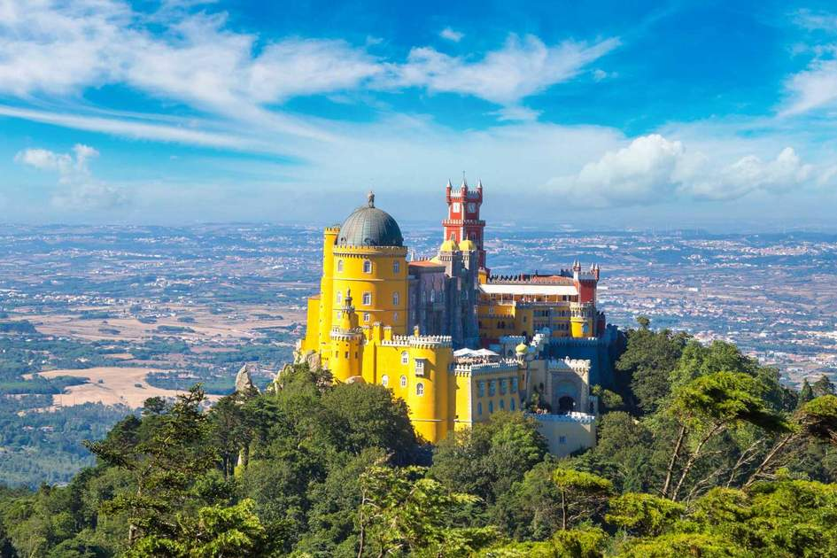 National Palace of Pena, Sintra, Portugal. Photo: S-F/Shutterstock