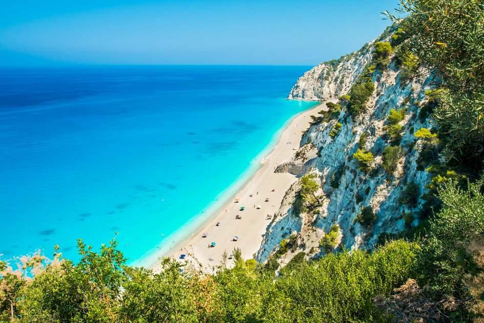 Egremní Beach, Levkáda, Greece. Photo: Lucian BOLCA/Shutterstock