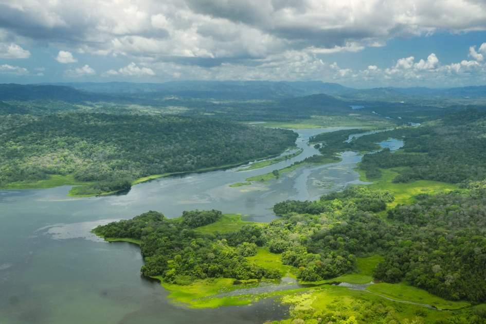 Atlantic side of Panama Canal. Photo: dani3315/Shutterstock