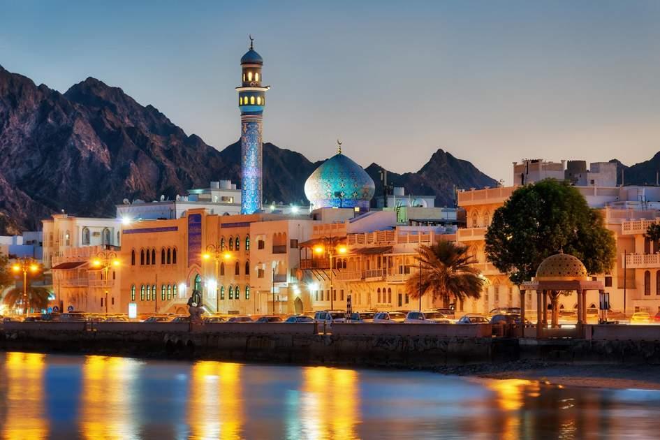 Mutrah Corniche, Muscat, Oman. Photo: Lukas Bischoff Photograph/Shutterstock