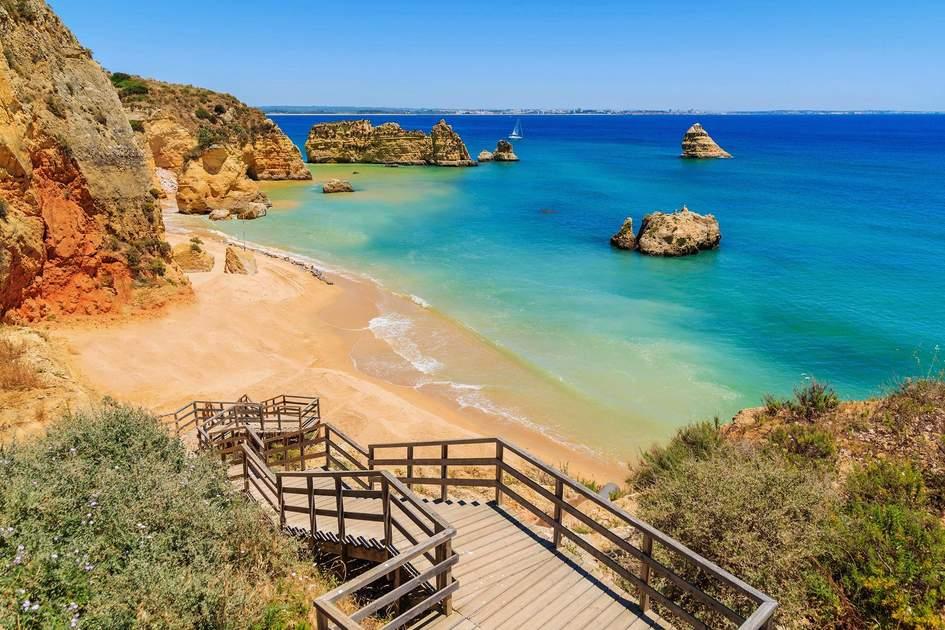 Praia Dona Ana, Algarve, one of the best beaches in Portugal. Photo: Pawel Kazmierczak/Shutterstock