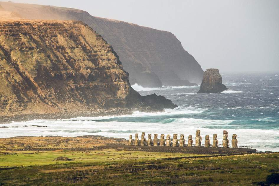 Ahu Tongariki, Rapa Nui (Easter Island), Chile. Photo: Oriol Querol/Shutterstock
