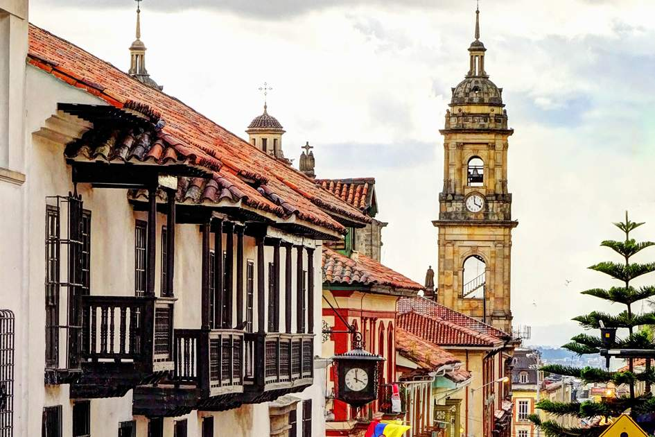 Colonial house in Bogota, Colombia. Photo: mehdi33300/Shutterstock