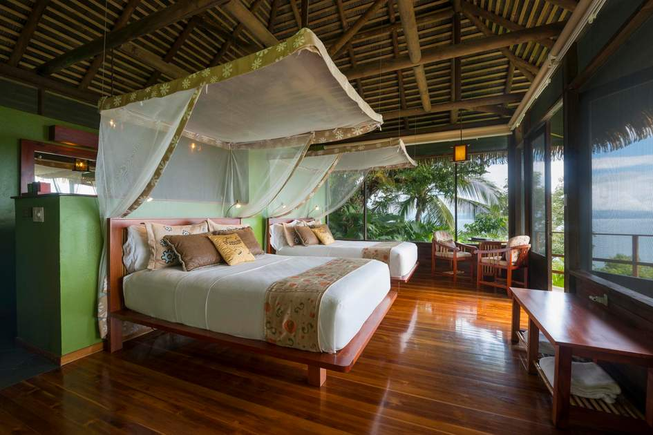 Room with a view at Lapa Rios Lodge, Puntarenas Province. Costa Rica. Photo: Press release