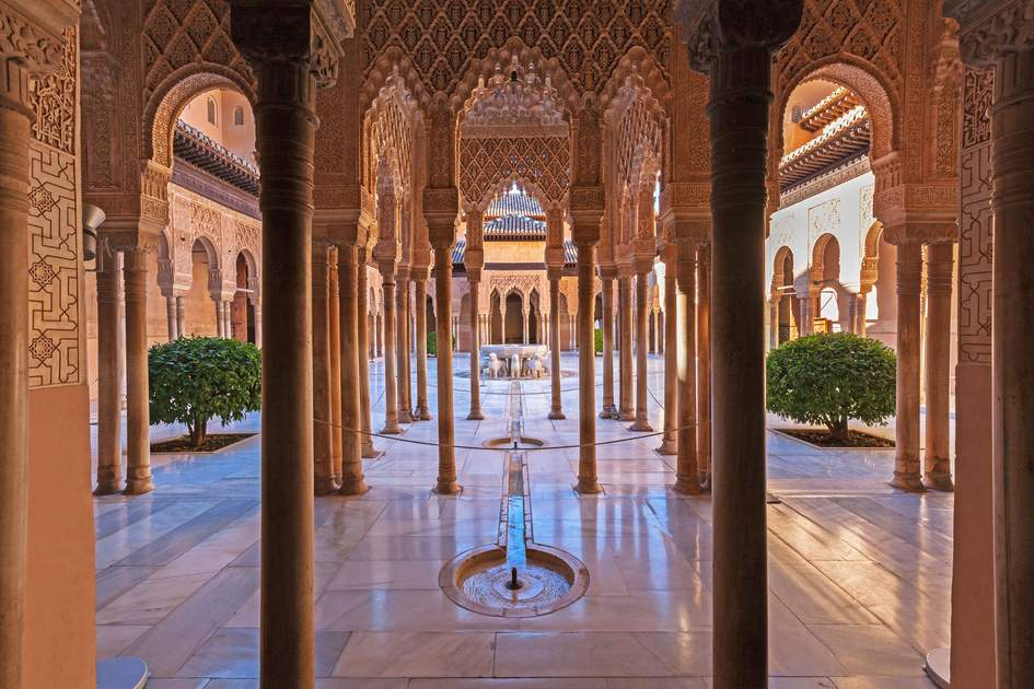 Alhambra Palace in Granada, Andalucía, Spain. Photo: liquid studios/Shutterstock