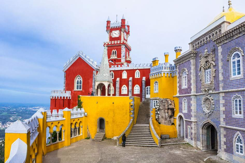 Pena Palace in Portugal. Photo: leoks/Shutterstock