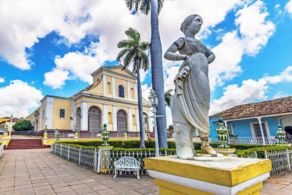 Plaza Mayor in Trinidad, Cuba. Photo: RPBaiao/Shutterstock