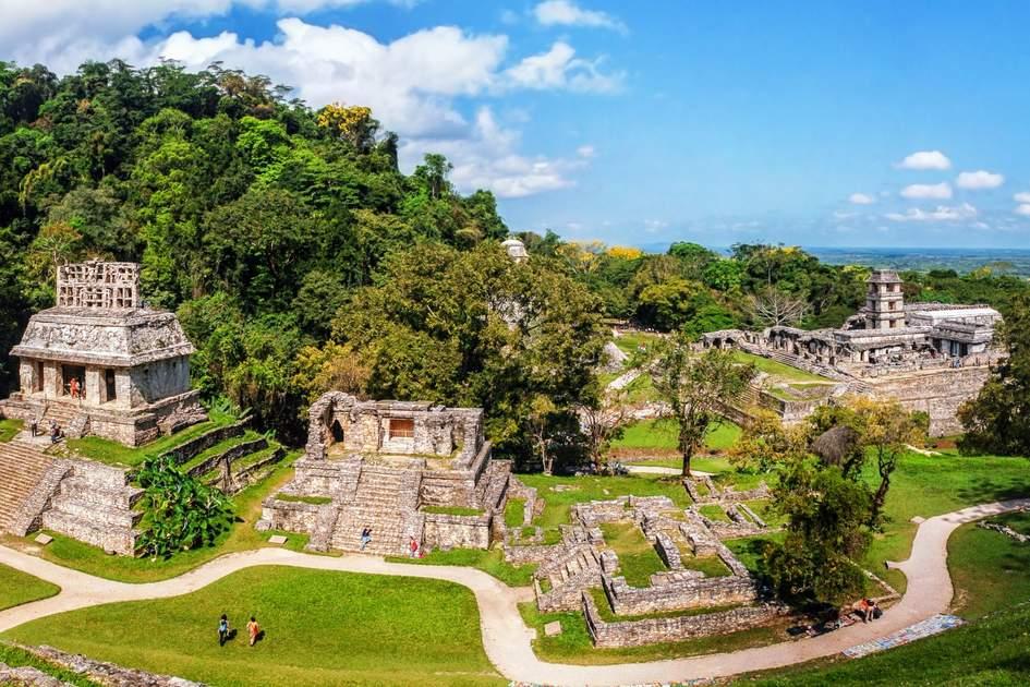 Mayan ruins at Palanque, Chiapas. Photo: Madrudgada Verde/Shutterstock
