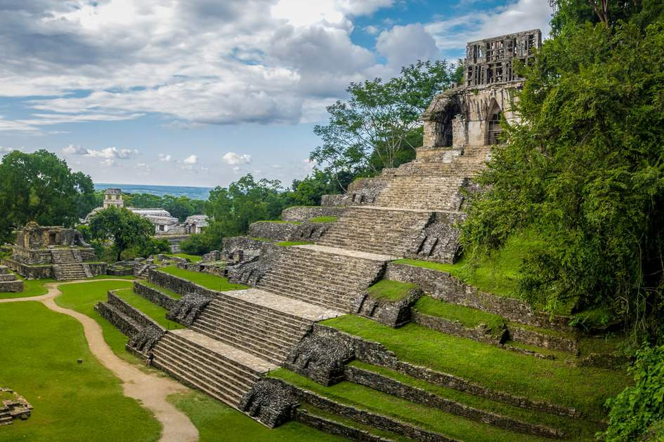 Temples of the Cross, Palenque. Photo: Diego Grandi/Shutterstock