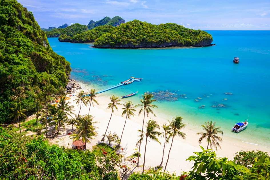 Ang Thong National Marine Park, Ko Samui, Thailand. Photo: lkuni/Shutterstock
