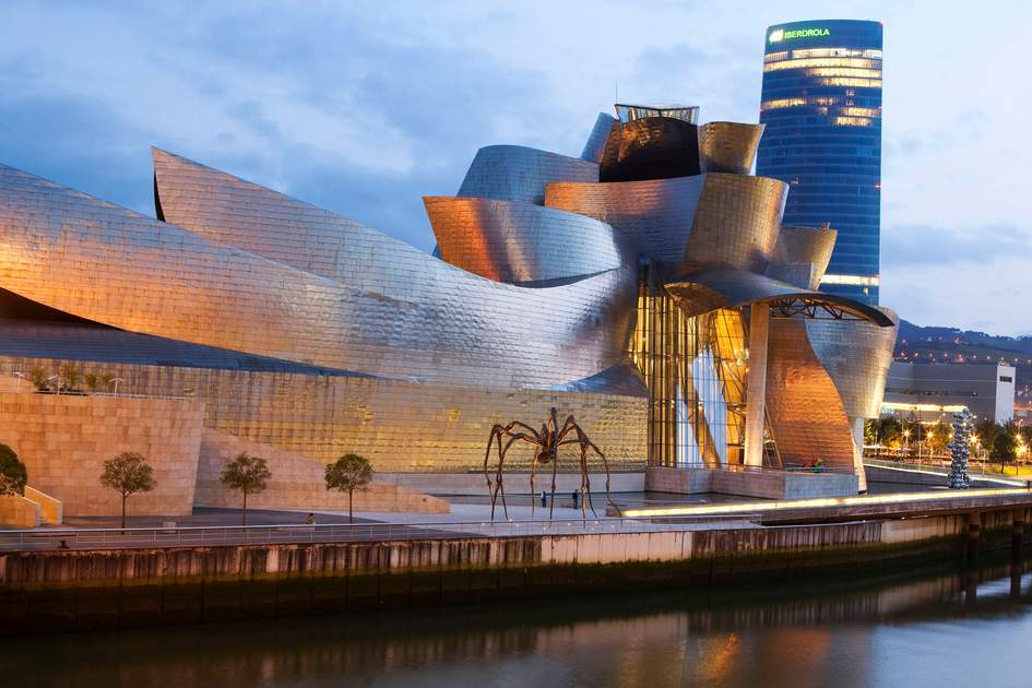 Guggenheim Museum in Bilbao, Spain. Photo: Corrie Wingate/APA