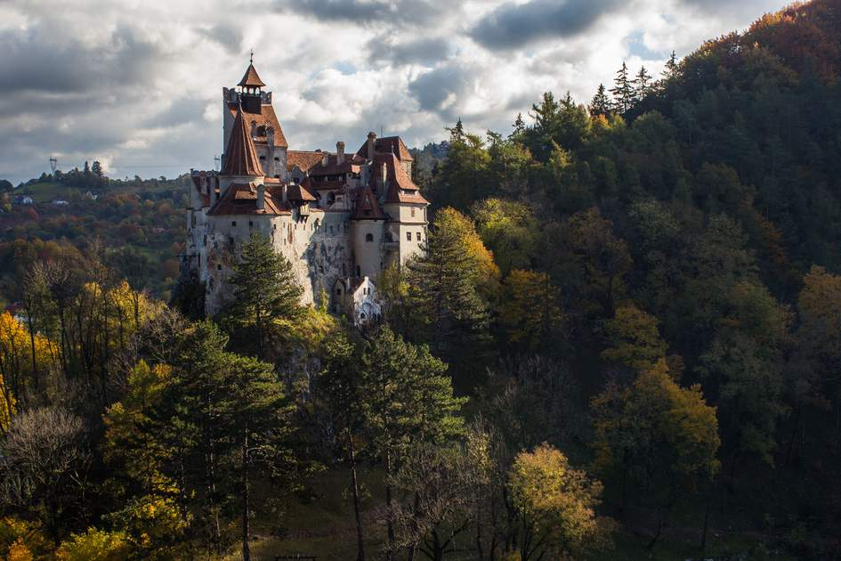 Bran Castle in the autumn, Romania. Photo: Zamfiroiu Dragos Marian/Shutterstock