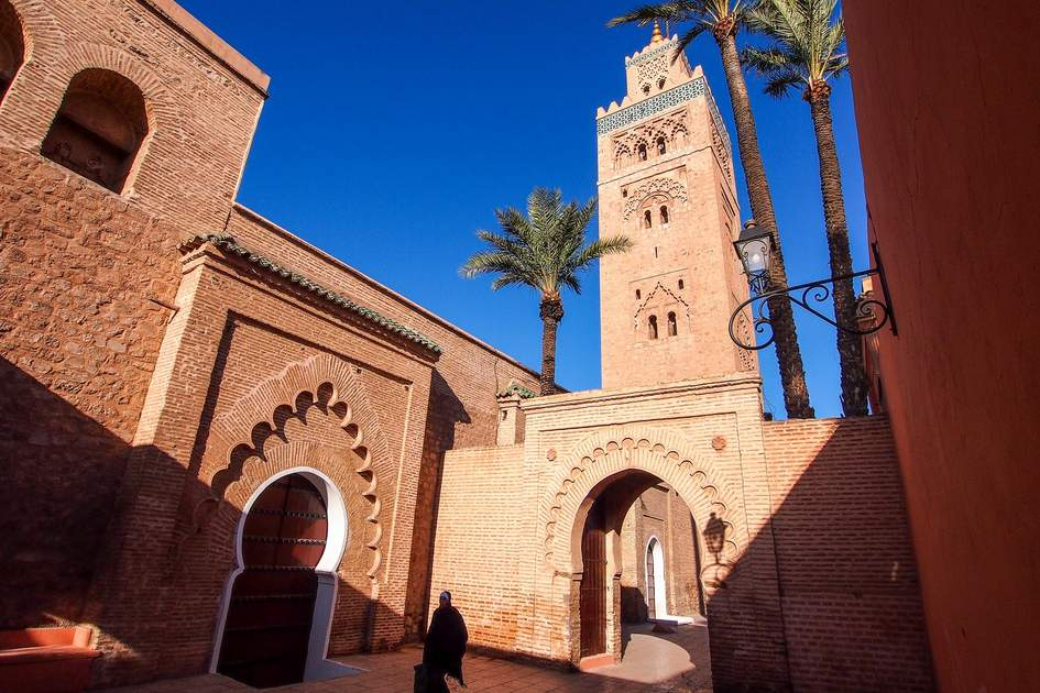 Koutoubia Mosque, Marrakech, Morocco. Photo: Nicram Sabod/Shutterstock
