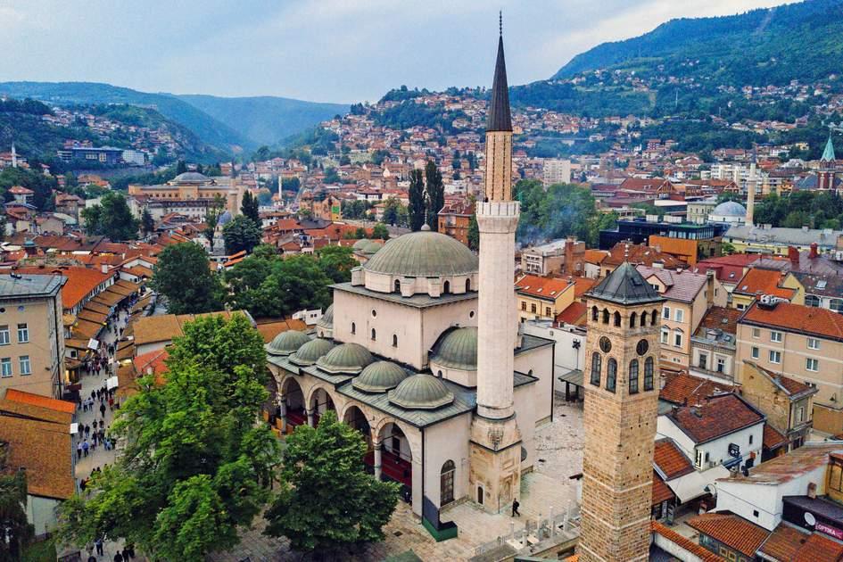 Gazi Husrev-beg Mosque, Sarajevo, Bosnia and Herzegovina. Photo: Decky/Shutterstock