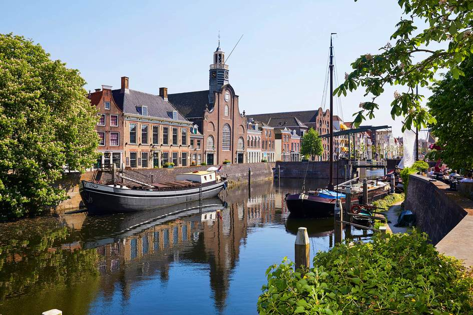 Explore historic Delfshaven, the oldest borough in Rotterdam, on a springtime trip to the Netherlands' second city. Photo: R.A.R. de Bruijn Holding BV/Shutterstock