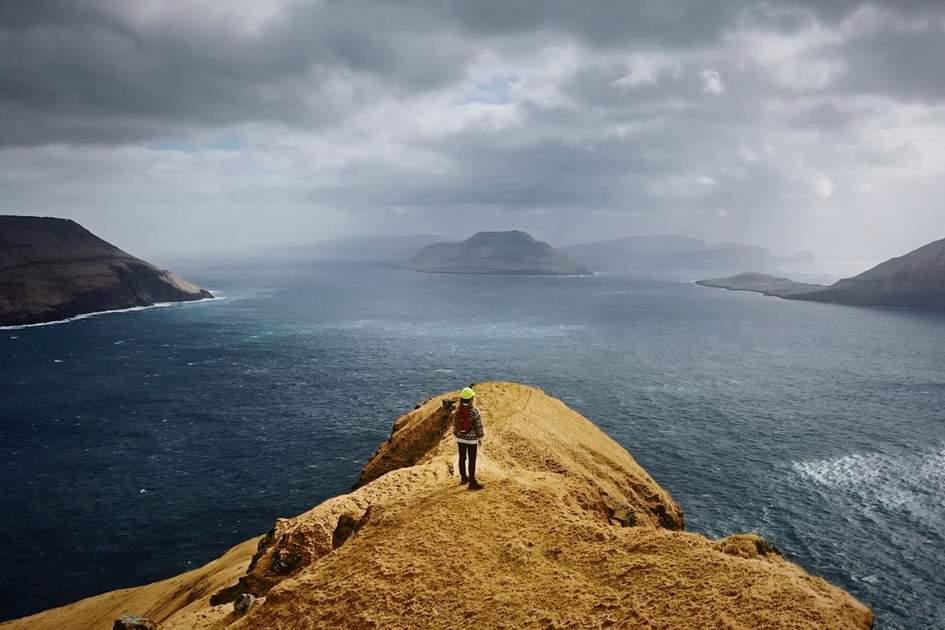 Faroe Island remote tourism screenshot.