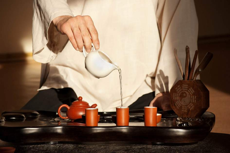 Chinese tea ceremony. Photo: Julenochek/Shutterstock