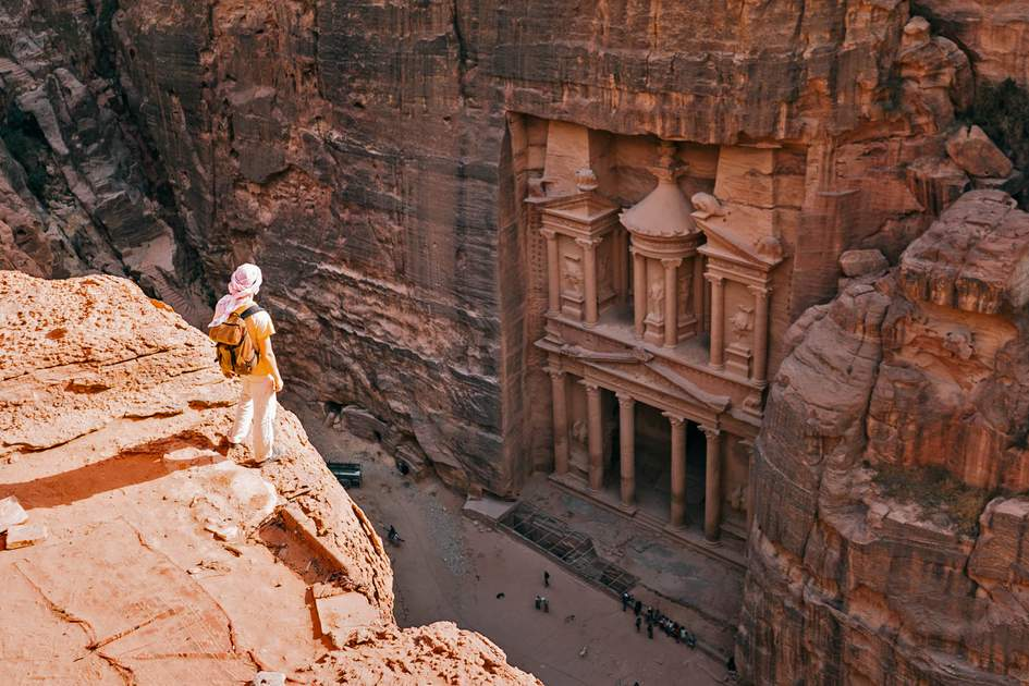 Ancient city of Petra, Jordan. Photo: kasakphoto/Shutterstock