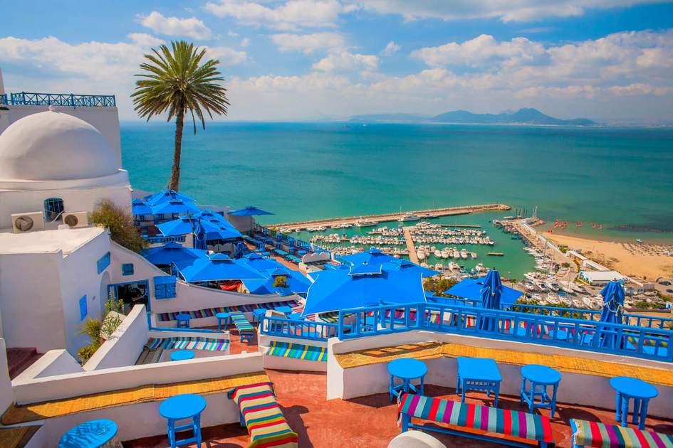 Sidi Bou Said, Tunisia. Photo:  Iurii Dzivinskyi/Shutterstock