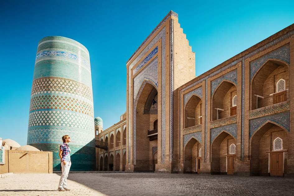 Itchan Kala ancient town, Khiva, Uzbekistan. Photo: Dudarev Mikhail/Shutterstock