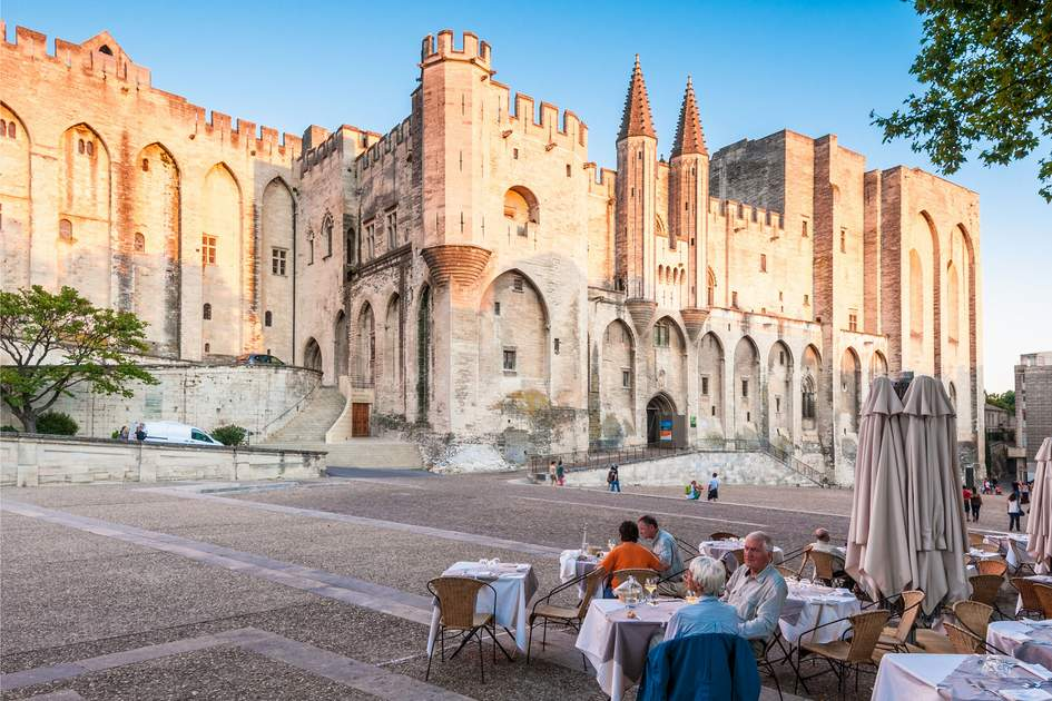 Pope palace in Avignon which became the residence of the Popes in 1309. Photo: Konstantin Yolshin/Shutterstock