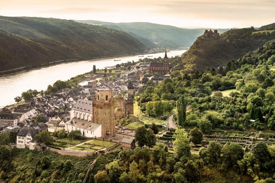 Oberwesel: Stadt im Oberen Mittelrheintal, UNESCO Welterbe. Photo: Lookphotos/Guenther Bayerl