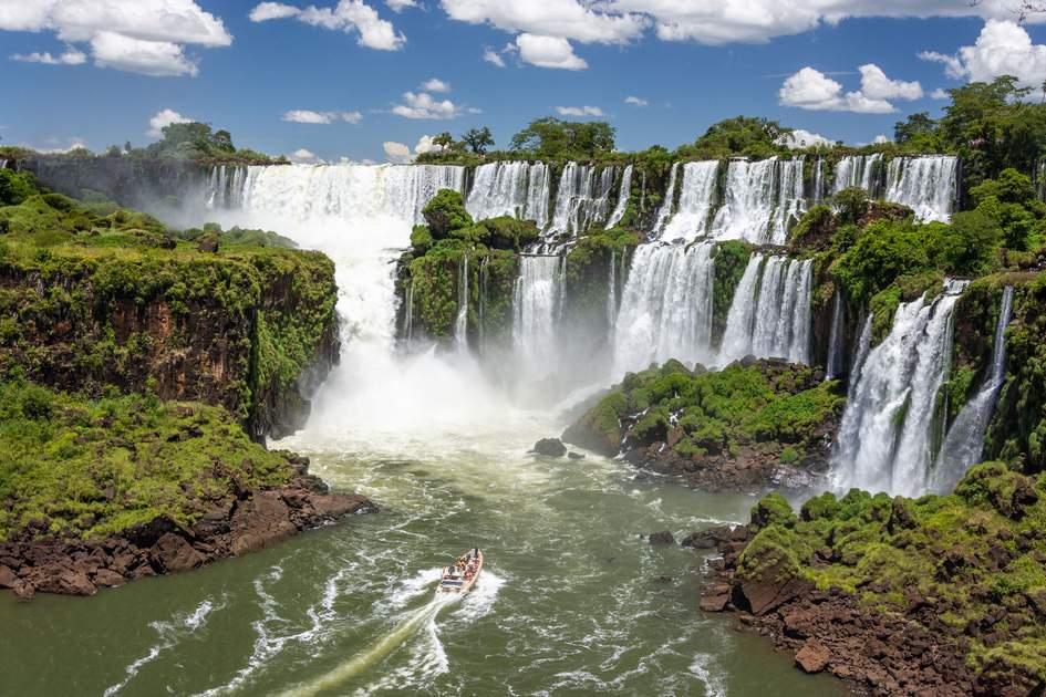 Amazing view of Iguazu Falls. Photo: Rodrigo S Coelho/Shutterstock