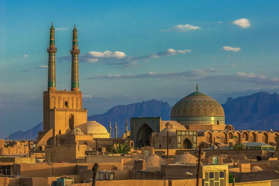 Sunset over Yazd, Iran. Photo: javarman/Shutterstock