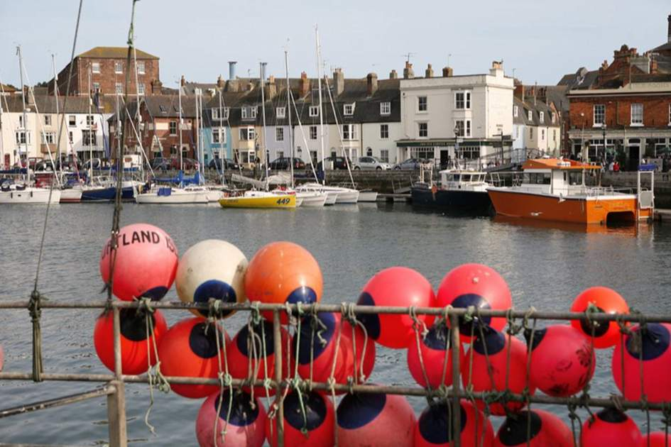 Weymouth Harbour, (photo by Lydia Evans / Apa Publications)