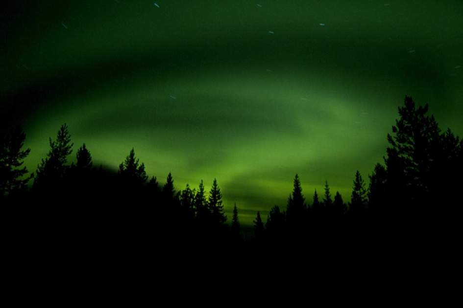 Swedish Northern Lights, (photo by Fedrik Broman)