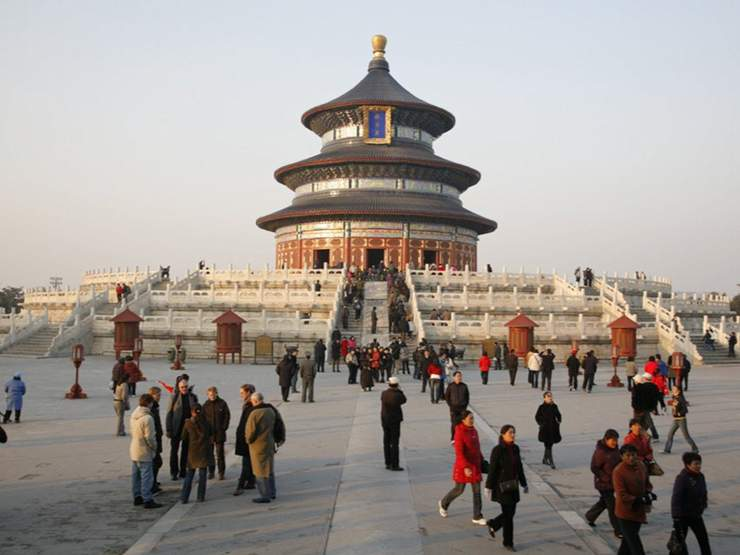 The Hall Of Prayer For Good Harvests Part Beijings Temple Heaven