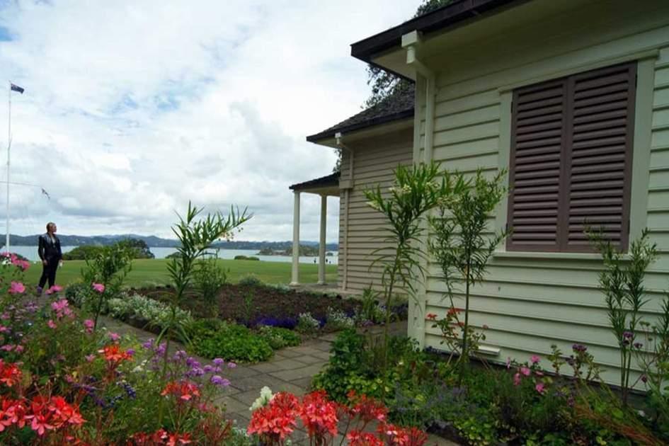 Waitangi Treaty House, Northland, New Zealand, (photo by Andy Belcher)