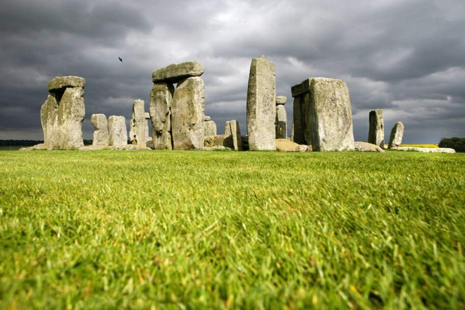 Stonehenge, near Salisbury in Wiltshire, (photo by Corrie Wingate)