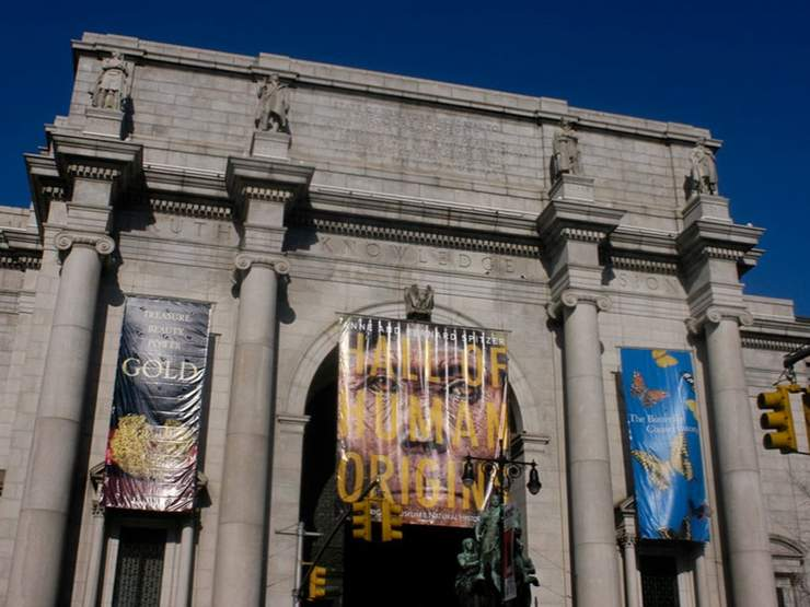 The american museum of natural history holidays by for New york culture facts