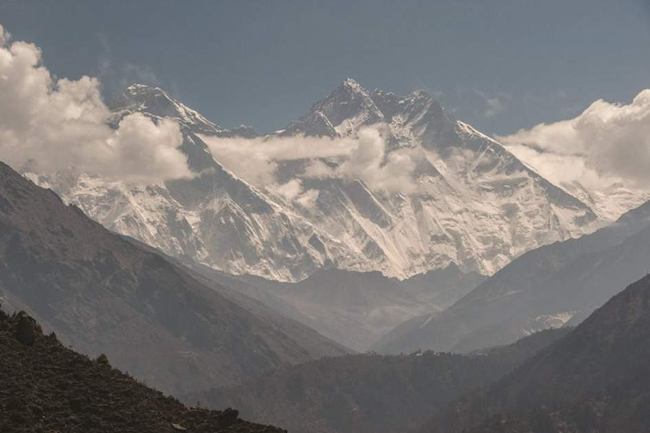 The Himalayas, (photo by James Tye)